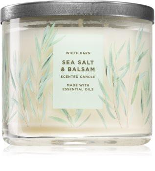 Bath & Body Works Sea Salt & Balsam αρωματικό κερί