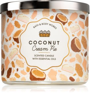 Bath & Body Works Coconut Cream Pie scented candle