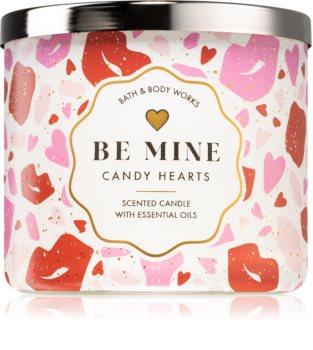 Bath & Body Works Be Mine Candy Hearts świeczka zapachowa