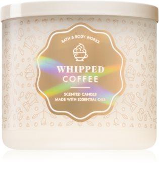 Bath & Body Works Whipped Coffee vonná svíčka