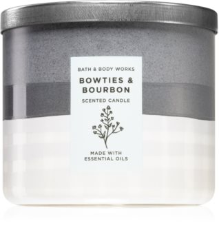 Bath & Body Works Bowties & Bourbon scented candle