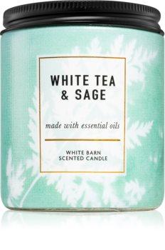 Bath & Body Works White Tea & Sage lumânare parfumată  I.