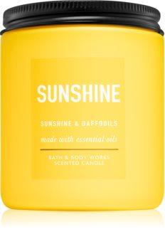 Bath & Body Works Sunshine and Daffodils illatos gyertya