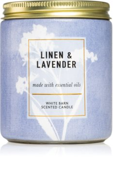 Bath & Body Works Linen and Lavender ароматическая свеча I.