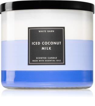 Bath & Body Works Iced Coconut Milk illatos gyertya