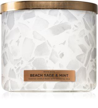 Bath & Body Works Beach Sage & Mint lumânare parfumată