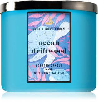 Bath & Body Works Ocean Driftwood scented candle