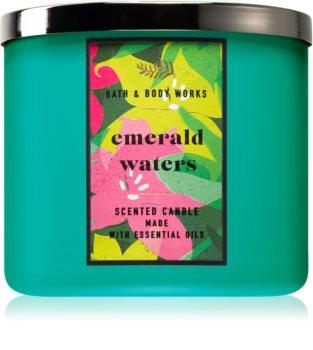 Bath & Body Works Emerald Waters αρωματικό κερί