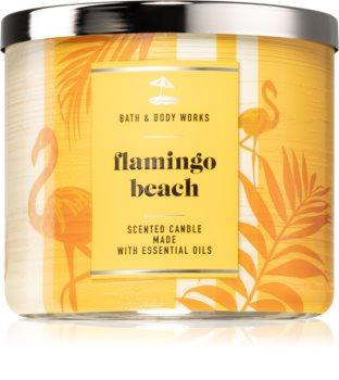 Bath & Body Works Flamingo Beach illatos gyertya