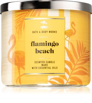 Bath & Body Works Flamingo Beach lumânare parfumată