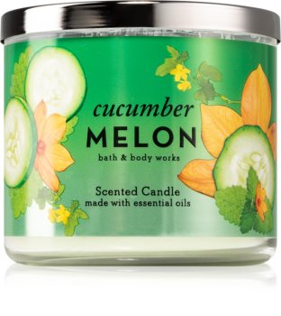 Bath & Body Works Cucumber Melon scented candle