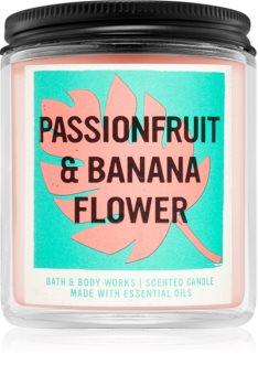 Bath & Body Works Passionfruit & Banana Flower aроматична свічка I.