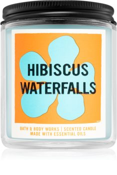 Bath & Body Works Hibiscus Waterfalls ароматна свещ  I.
