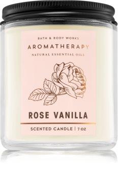 Bath & Body Works Rose Vanilla mirisna svijeća