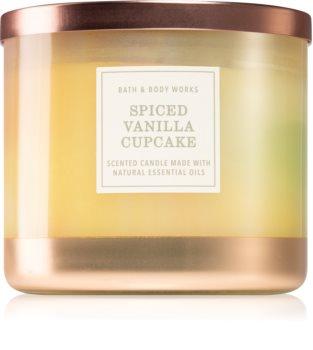 Bath & Body Works Spiced Vanilla Cupcake αρωματικό κερί