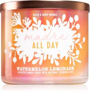 Bath & Body Works Madre All Day Watermelon Lemonade illatos gyertya