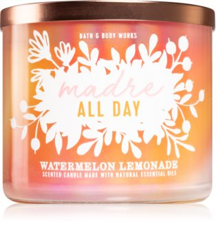 Bath & Body Works Madre All Day Watermelon Lemonade lumânare parfumată