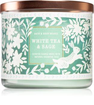 Bath & Body Works White Tea & Sage aроматична свічка