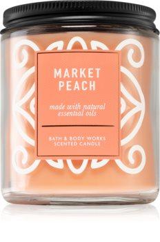 Bath & Body Works Market Peach vonná svíčka I.