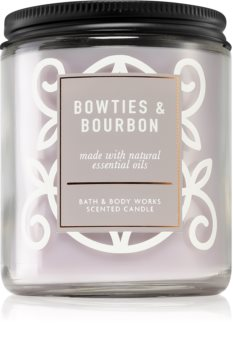 Bath & Body Works Bowties & Bourbon scented candle I.