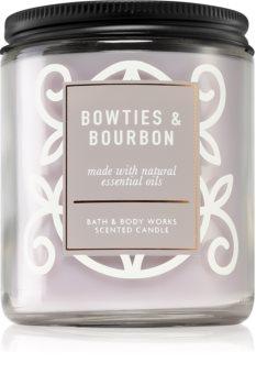 Bath & Body Works Bowties & Bourbon vonná svíčka I.