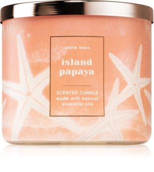 Bath & Body Works Island Papaya lumânare parfumată