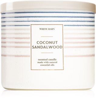 Bath & Body Works Coconut Sandalwood lumânare parfumată  I.