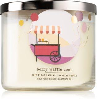 Bath & Body Works Berry Waffle Cone bougie parfumée