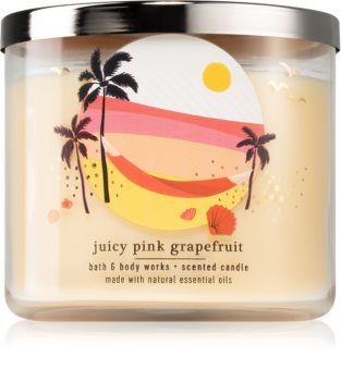 Bath & Body Works Juicy Pink Grapefruit bougie parfumée