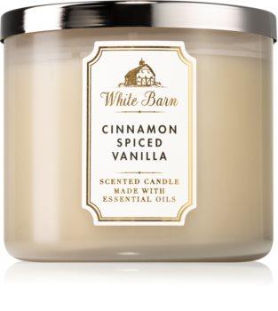 Bath & Body Works Cinnamon Spiced Vanilla lumânare parfumată  I.