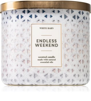 Bath & Body Works Endless Weekend mirisna svijeća