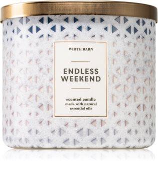 Bath & Body Works Endless Weekend świeczka zapachowa