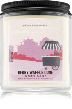 Bath & Body Works Berry Waffle Cone dišeča sveča  I.