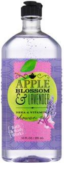 Bath & Body Works Apple Blossom & Lavender gel de duche para mulheres 295 ml