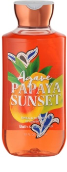 Bath & Body Works Agave Papaya Sunset gel de ducha para mujer 295 ml