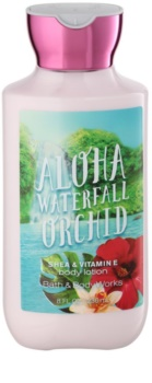 Bath & Body Works Aloha Waterfall Orchid leche corporal para mujer 236 ml