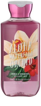 Bath & Body Works Aloha Waterfall Orchid gel de ducha para mujer 295 ml
