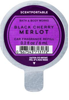 Bath & Body Works Black Cherry Merlot vôňa do auta náhradná náplň