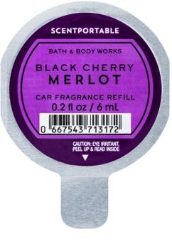 Bath & Body Works Black Cherry Merlot vůně do auta náhradní náplň