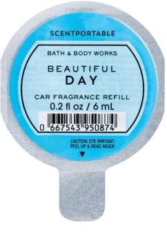 Bath & Body Works Beautiful Day vôňa do auta 6 ml náhradná náplň