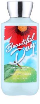 Bath & Body Works Beautiful Day tělové mléko pro ženy