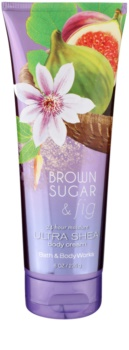 Bath & Body Works Brown Sugar and Fig crema corporal para mujer 236 ml