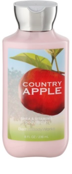 Bath & Body Works Country Apple telové mlieko pre ženy 236 ml