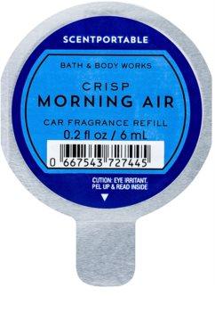 Bath & Body Works Crisp Morning Air ambientador auto recarga de substituição