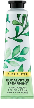 Bath & Body Works Eucalyptus Spearmint crema de manos