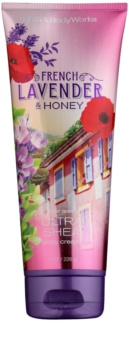 Bath & Body Works French Lavender And Honey crema corporal para mujer 226 g