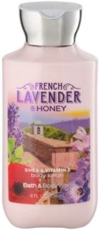 Bath & Body Works French Lavender And Honey leite corporal para mulheres