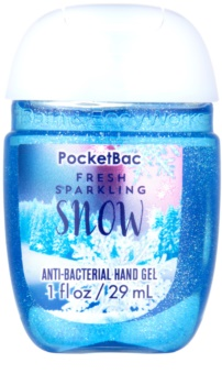 Bath & Body Works PocketBac Fresh Sparkling Snow gel  para as mãos
