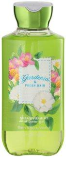 Bath & Body Works Gardenia & Fresh Rain gel de duche para mulheres 295 ml
