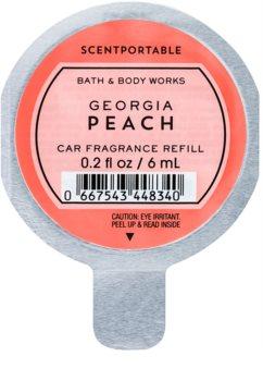 Bath & Body Works Georgia Peach ambientador de coche para ventilación 6 ml recarga de recambio